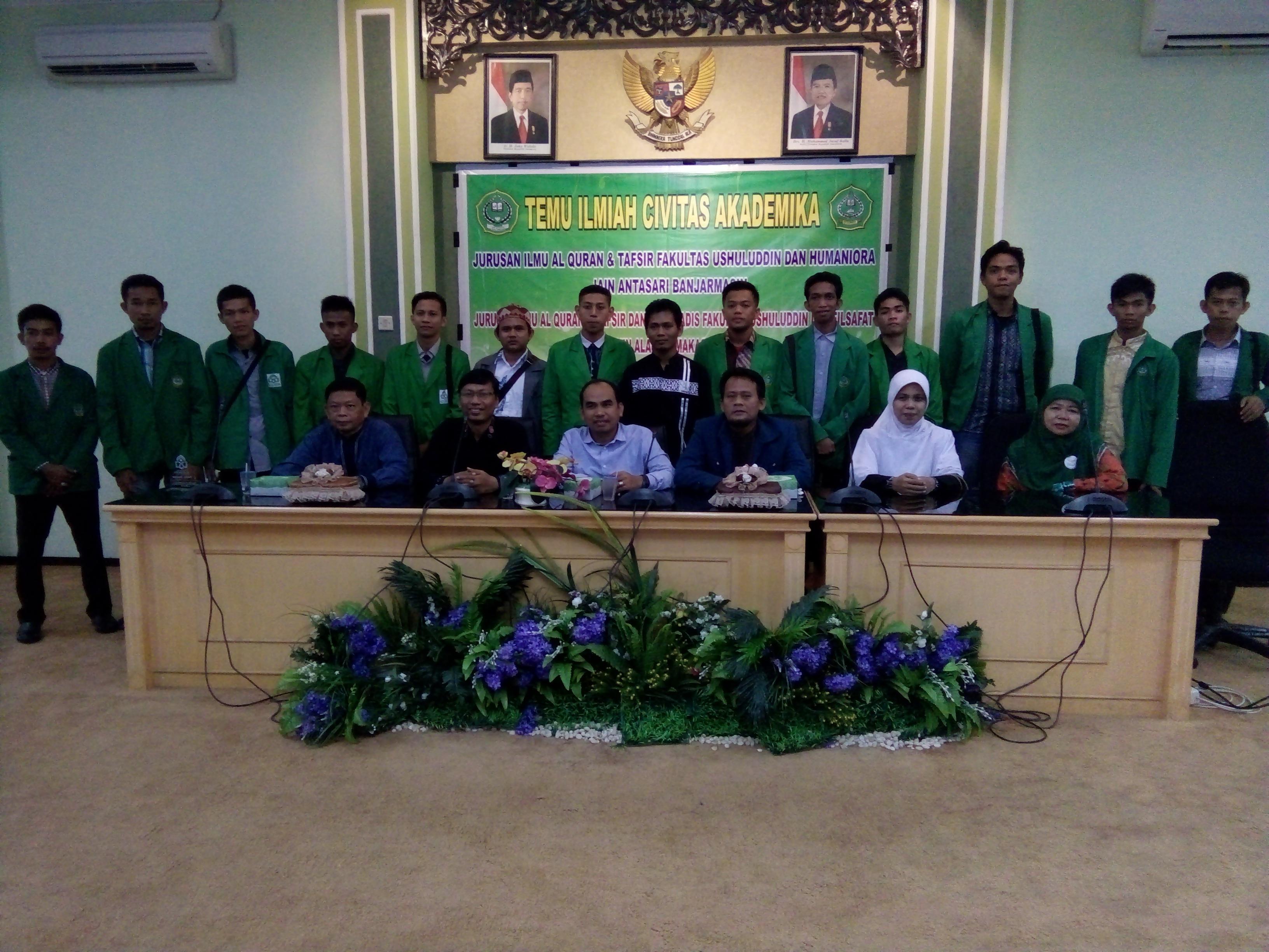 Temu Ilmiah Civitas Akademika Fakultas Ushuluddin dan Humaniora IAIN Antasari Banjarmasin